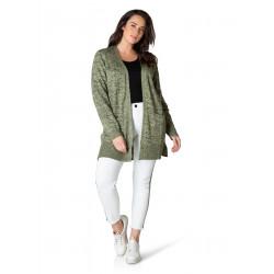 Vest olive green