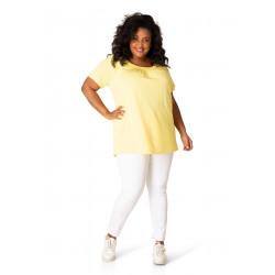 Shirt basiscollectie geel