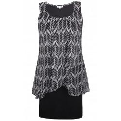 Mouwloze jurk Zhenzi
