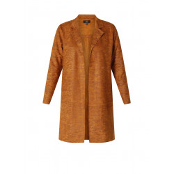 lange blazer bruin